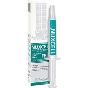 Suplemento Vitamínico Nuxcell Fel para Gatos 2g