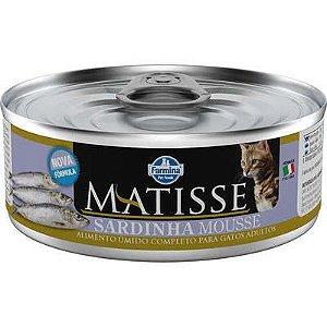 Ração Úmida Matisse Sardinha Mousse para Gatos Adultos