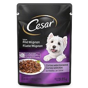 Cesar Adulto File Mignon 85g