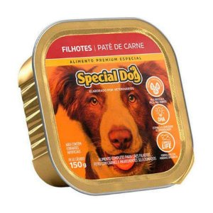 Ração Úmida Special Dog para Cães Filhotes Sabor Patê de Carne 150g