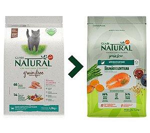 Ração Guabi Natural Grain Free Gato Adulto Castrado Salmão e Lentilha