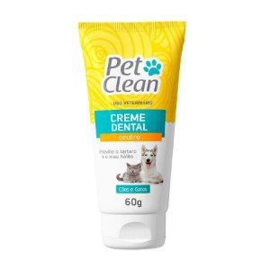 Pet Clean Creme Dental Neutro 60g