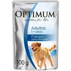 Optimum Dog Sachê Adulto Frango 100g