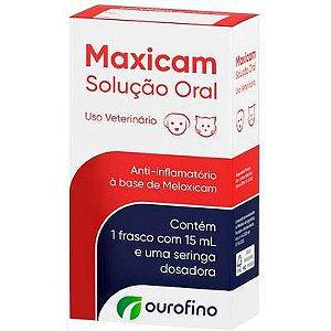 Maxicam Solução Oral 15ml
