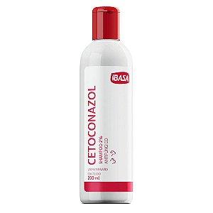 Shampoo Antifúngico Ibasa Cetoconazol 2% 200ml  Para Cães e Gatos