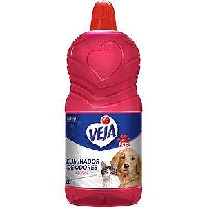 Veja Pets Eliminador Odores Floral  2L