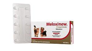 Meloxinew Anti-inflamatório com 10 comprimidos