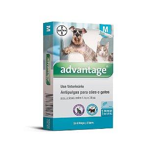 Advantage caes e gatos  1.0ml 4 a 10kg