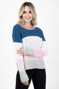 Blusa Tricot Color