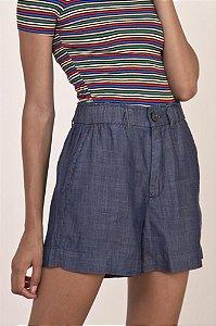 Short Elástico Cintura Lyocell