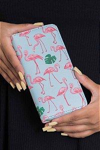 Carteira Dinheiro Flamingos