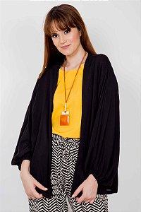 Kimono Liso Punho Elástico