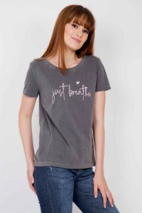 T-shirt Just Breathe