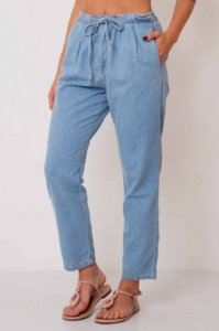 Calça Jeans Elástico Cintura