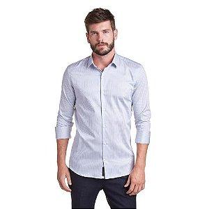 Camisa ML Buckman Social Fio Tinto Masculina