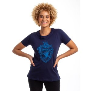 Camiseta Baby Look Brasão Corvinal