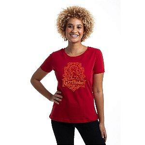 Camiseta Baby Look Brasão Grifinória