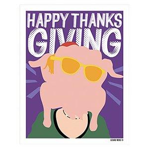 Placa Decorativa Happy Thanksgiving