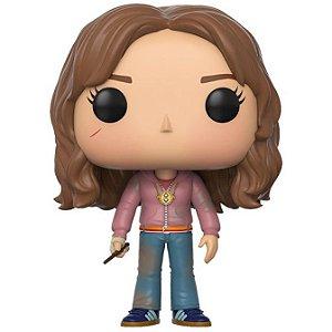 Funko Pop Hermione Granger com o Vira Tempo