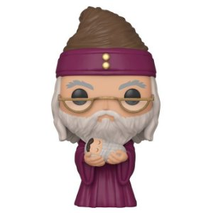 Funko Pop Dumbledore with baby Harry