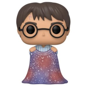 Funko Pop Harry Potter com a Capa de Invisibilidade
