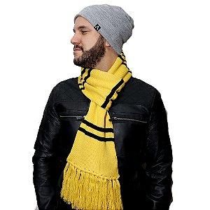 Cachecol Lufa Lufa - Amarelo e Preto