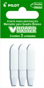 PONTA PARA MARCADOR V-BOARD MASTER (QUADRO BRANCO) C/3