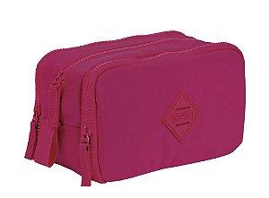 Estojo Especial 3 Compartimentos Crinkle Pink