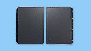 Capa Caderno Basic Grey