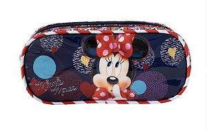 Estojo Duplo Minnie Mouse R1 9365