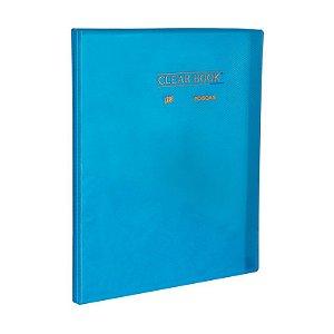 Pasta Catálogo 50 folhas Clear Book Transparente