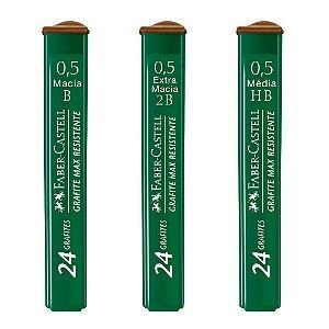 Grafite Técnico Faber-Castell Polymer 0.5mm - Unidade