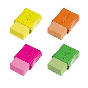 Borracha Faber-Castell Max Neon Mix - Unidade