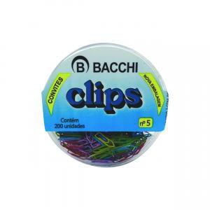 Clips Colorido N.5 Sortido - c/ 200 unidades