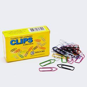 Clips Colorido N. 2/0 (00) Sortido - c/ 100 unidades