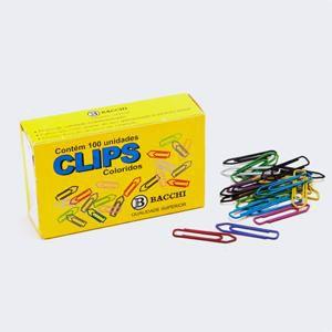Clips Colorido N. 1 - c/ 100 unidades