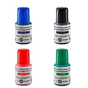 Tinta para Marcador Quadro Branco 20ml BRW - Unidade
