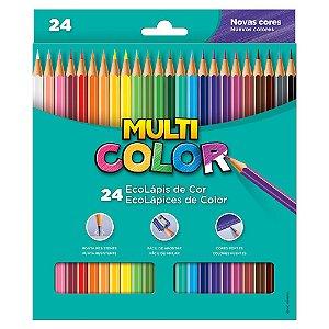 Ecolápis de Cor Multicolor Super 24 Cores