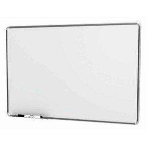 Quadro Branco Moldura Alumínio 100X70cm Linha Free