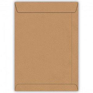Envelope Saco Kraft Natural 80g 260x360mm