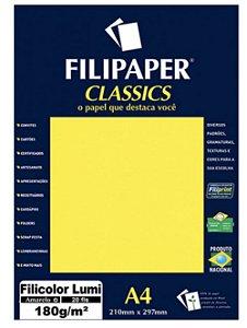 Filipaper Filicolor 180g/m² A4 com 20 Folhas