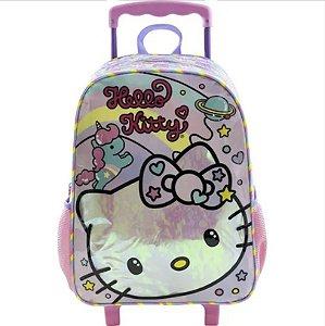 Mala com Rodas 16 Hello Kitty Rainbow