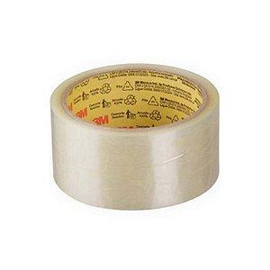 Fita de Empacotamento Scotch® Transparente 50mmx50mm - Unidade