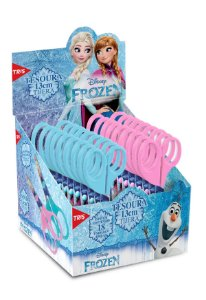 Tesoura Escolar Frozen Lâmina Decorada 13cm - Unidade