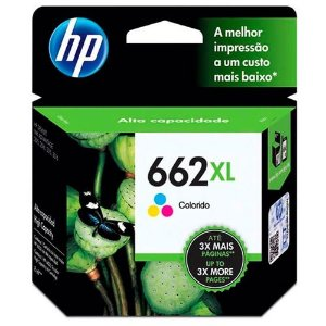 CARTUCHO HP 662 XL COLOR