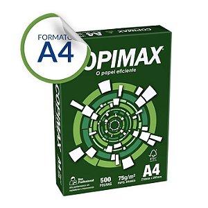 Papel A4 Copimax 75g/m² 500 Folhas - Suzano