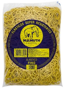 ELÁSTICO MAMUTH 1000g C/1200 UNIDADES