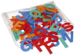 Alfabeto Móvel (72 letras - E.V.A) 5cm de altura - Jott Play