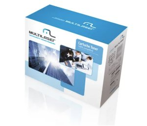 Cartucho Toner Universal Compatível C/ Hp E Canon Lbp Preto Multilaser - CT0301
