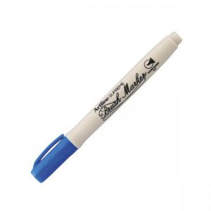 CANETA BRUSH EPF-F ARTLINE AZUL
